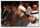 From right: Sh. Seif Al-A'sri, Sh. Mahmoud Al-Daqqaq, Dr. Amir-ul-Islam