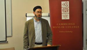 Musa Furber in Cambridge Muslim College